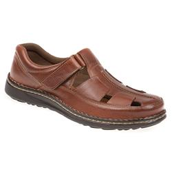 JOE1702 Leather Upper Leather/Other Lining Sandals in Brown