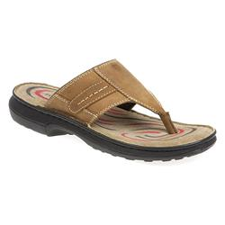 kemp1700 Leather Upper Sandals in Brown