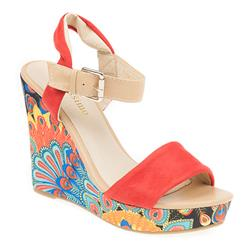 STHIW1702 Other/Textile Upper Sandals in Black, Blue, Red
