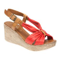 ZYN1708 Leather Sandals in Beige, Black, Red