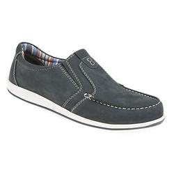 HSPARK1705 Leather Mens Best Sellers in Dark Brown, Navy