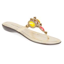 AL1700 Textile/Other Upper Textile Lining Sandals in Black Silver, Gold, White