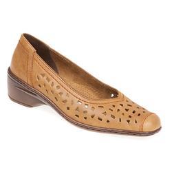 A16-51177 Leather Ara in Tan, White
