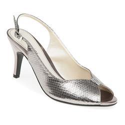 AMI1751 Sandals in Black Snake, Pewter Snake, Silver Snake