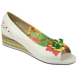 BEL9054 Leather Comfort Small Sizes in White