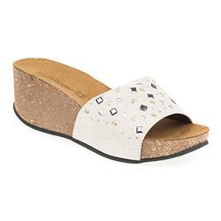 STIN1705 Leather Lining Sandals in Beige, Black