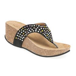 STIN1708 Leather Lining Sandals in Beige, Black