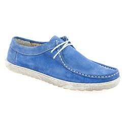 AD1705 Suede Upper Textile Lining Casual Shoes in Blue, Pink